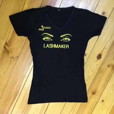 Футболка чёрная Lashmaker