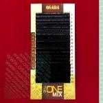 Ресницы «THE ONE MIX», изгиб: D