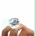 Кольцо-кристалл для клея