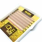 Ресницы «THE ONE mini-MIX White», изгиб: C